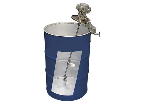 50加仑夹桶式气动搅拌器