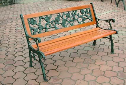 厂家直销成都公园椅休闲椅园林椅