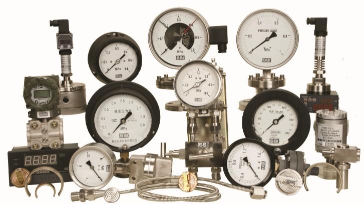 压力仪表、温度仪表
