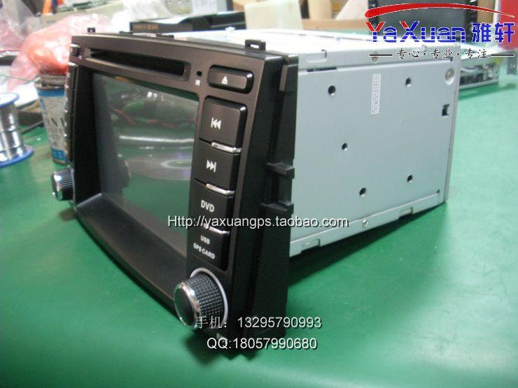 北京汽车E系列专用DVD导航,2012年款北汽新E级安加装车载G