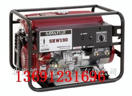 泽藤本田汽油发电电焊机SHW190H