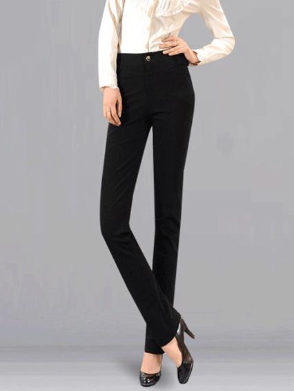 2012新款专柜正品女装休闲长裤子大码女裤韩版显瘦哥弟料铅笔裤