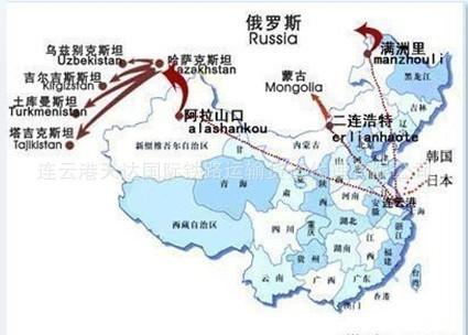 国际铁路运输--中亚五国