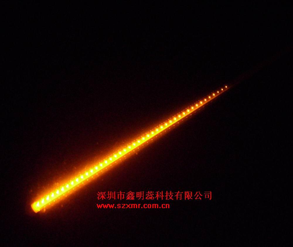 led流星雨灯,黄光,100cm