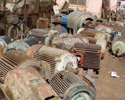北京报废电机回收 收购报废设备 废旧电焊机 发电机