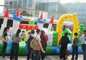 上海崇明小型充气城堡出租 新春园游会