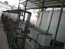 处理污水时电渗析器发挥的作用