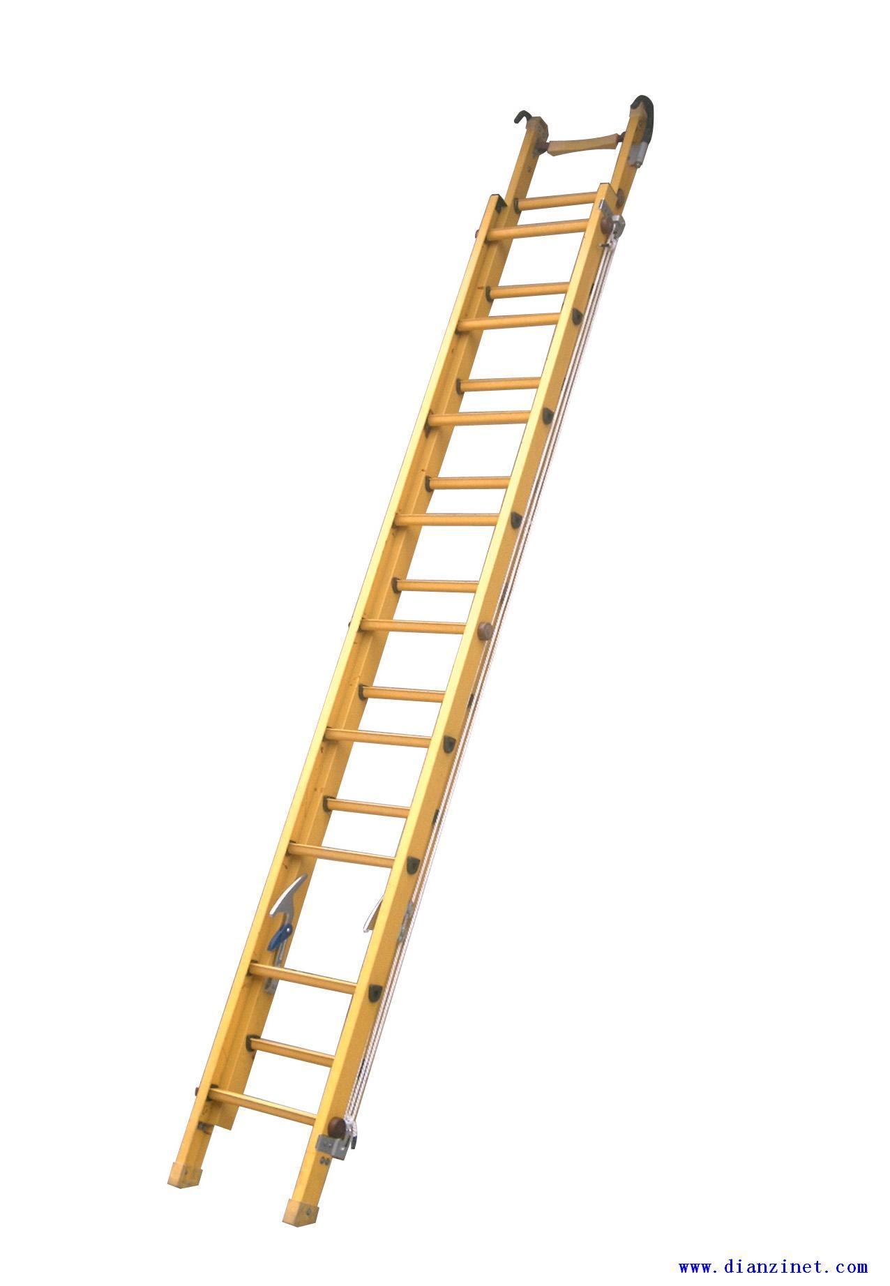不导电绝缘升降单梯,绝缘合页升降梯,鱼竿式绝缘梯
