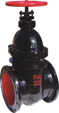 铸铁暗杆楔式闸阀Z45T/Z45W-10  铜套铜杆楔式闸阀 铜