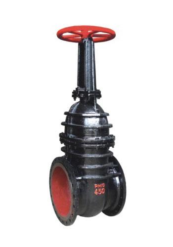 铸铁明杆楔式闸阀Z41T/Z41W-10  铜套铜杆楔式明杆闸阀