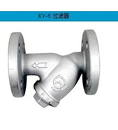 日本阀天Y型蒸汽过滤器,VENN铸铁过滤器KY-6