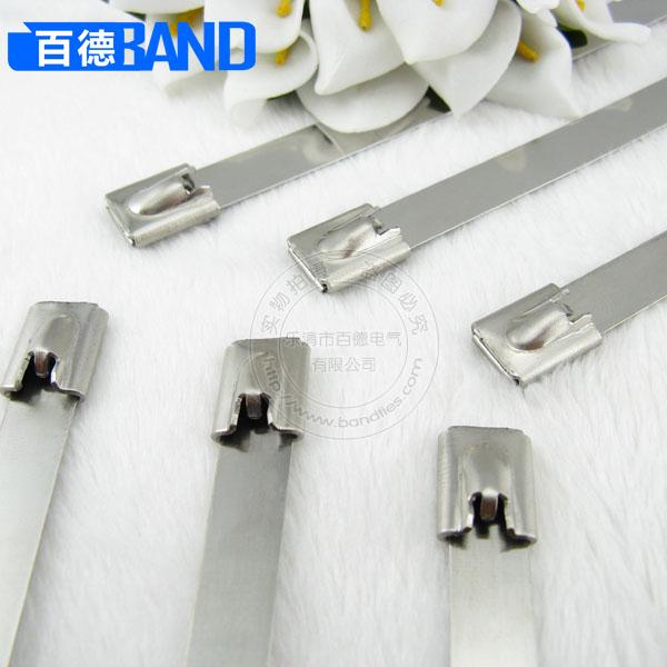 304白钢不锈钢扎带
