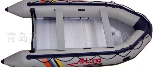 钓鱼橡皮艇ALIB430 铝合金底板 韩国进口材料 浅灰色