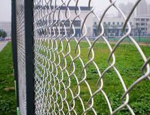 镀锌勾花网、小区围栏网、勾花网机护栏网安平生产