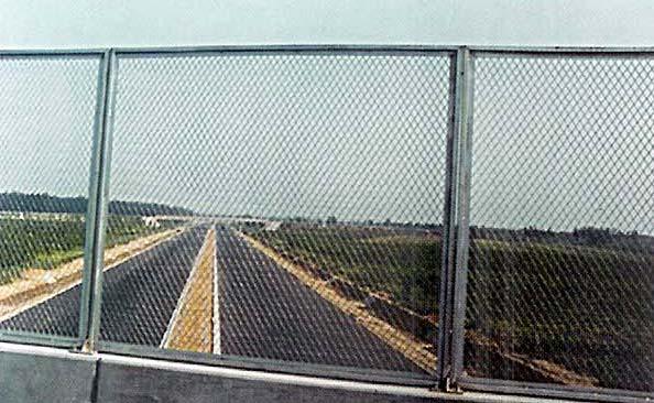 桥梁防落网  桥梁围栏网  桥梁隔离网