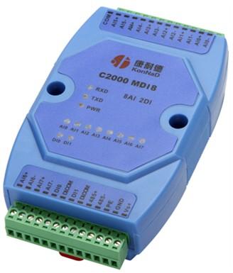 4-20MA转485,A/D数模转换模块,8路模拟量输入
