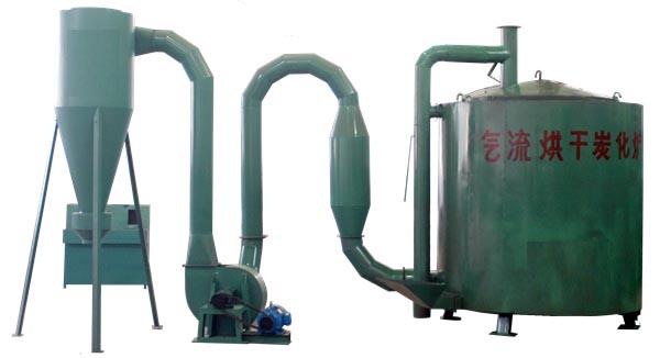 气流烘干炭化炉