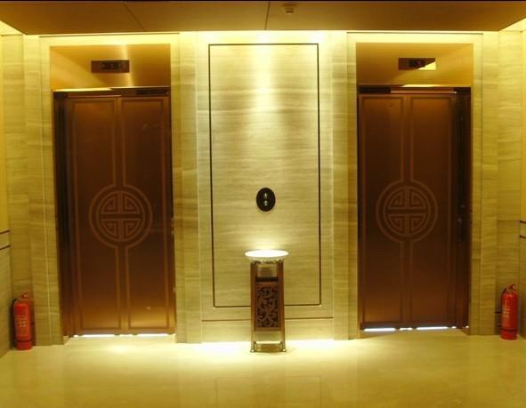 供应大连彩色不锈钢钛金电梯板