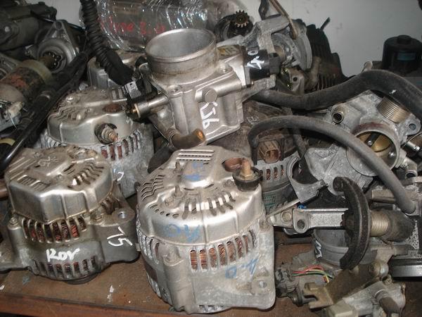 富豪s80压缩机 冷气泵 发电机