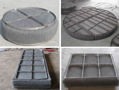 不锈钢丝网除沫器 丝网除雾器 捕沫器 气液分离器