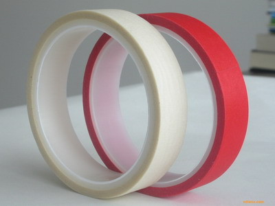 供应高温红白复合美纹/耐高温红美纹纸胶带