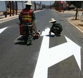 热熔型道路标线涂料 南宁道路反光涂料
