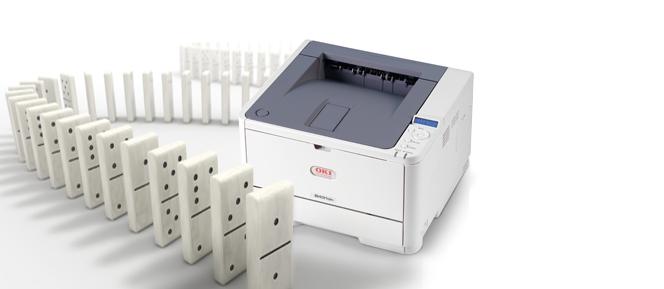 挽联打印机 花圈挽联打印机 黑白挽联打印机OKIB431/411