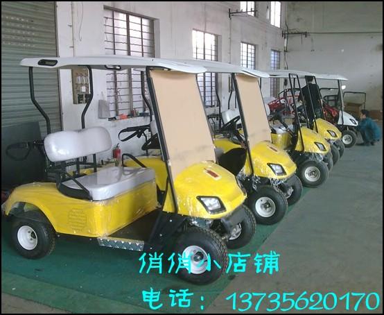 电动高尔夫球车 代步车 电动车高清图片