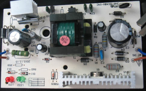 电源线路板抄板仿制克隆一条龙