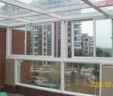 广州黄埔小区断桥隔热铝合金 铝合金窗 阳光房 阳台窗