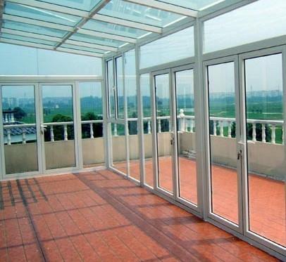 铝合金封阳台/铝合金门窗制作/铝合金阳光房