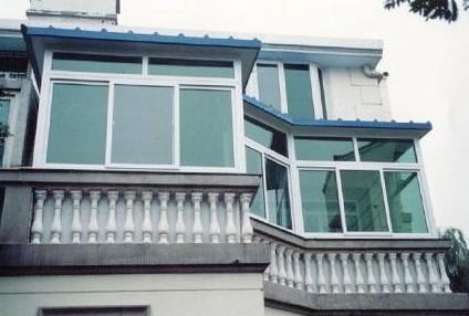 广州阳光房 封阳台 别墅阳台 推拉窗