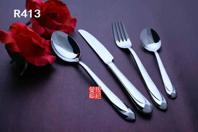 新品 顶级品质 不锈钢西餐具 刀叉勺套装 三件套
