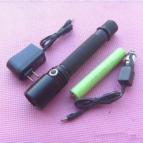 神火强光电筒 铝合金手电筒 JW7210