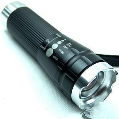 神火强光电筒强光手电筒 五灯头LED电筒 充电电筒