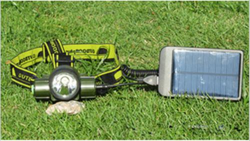 太阳能头灯,LED充电头灯,强光电筒