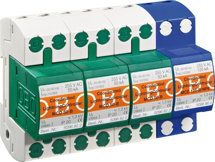 OBO电源防雷器MCD50-B/3+NPE