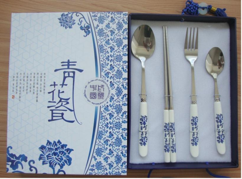 珠海便携餐具套装系列,珠海西餐具,西餐刀叉批发商