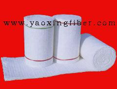 陶瓷纤维双面针刺甩丝毯 硅酸铝纤维毯