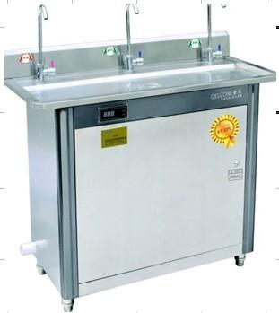 不锈钢三龙头饮水台 带过滤系统超大出水量省电80%