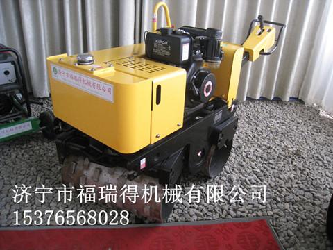 热销山东压路机 全液压小型压路机 双钢轮沟槽全液压压路机
