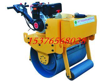 热销手扶单轮重型压路机 柴油压路机 震动压路机