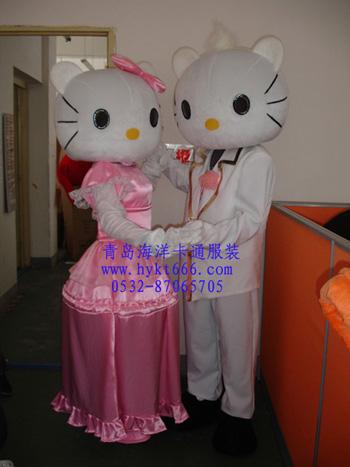 出售青岛卡通服装节日庆典服装表演服装