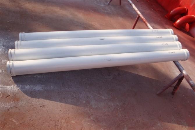 制造泵管 18米手动布料机 混凝土管卡