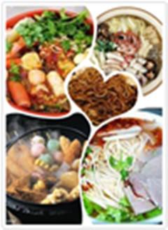 佳香经典小吃技术培训卤肉技术砂锅技术