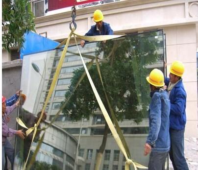 佛山玻璃更换吊蓝吊装出租广州中山玻璃打胶