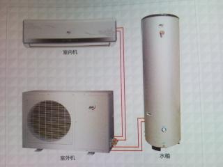 空调热水一体机热泵机组集中式供热供冷系统污水源热泵系统