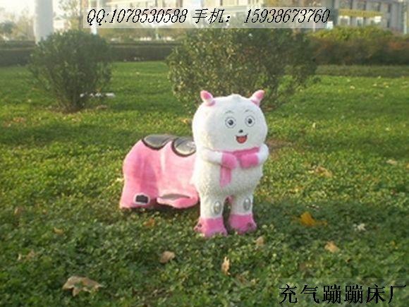 电动毛绒玩具车儿童毛绒电动车玩具车批发电话15938673760