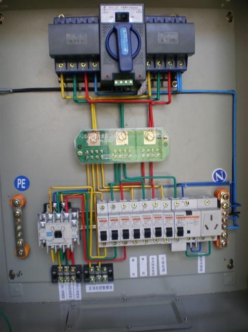 智能双电源转换柜