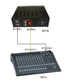 供应电话调音台连接器 电台热线电话 多方电话会议耦合器 北京